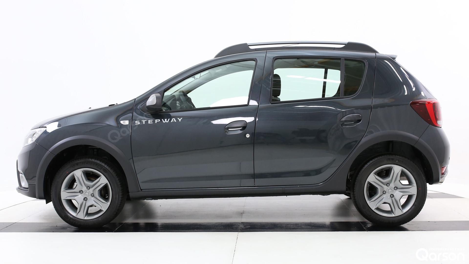 Vue profile gauche Dacia Sandero