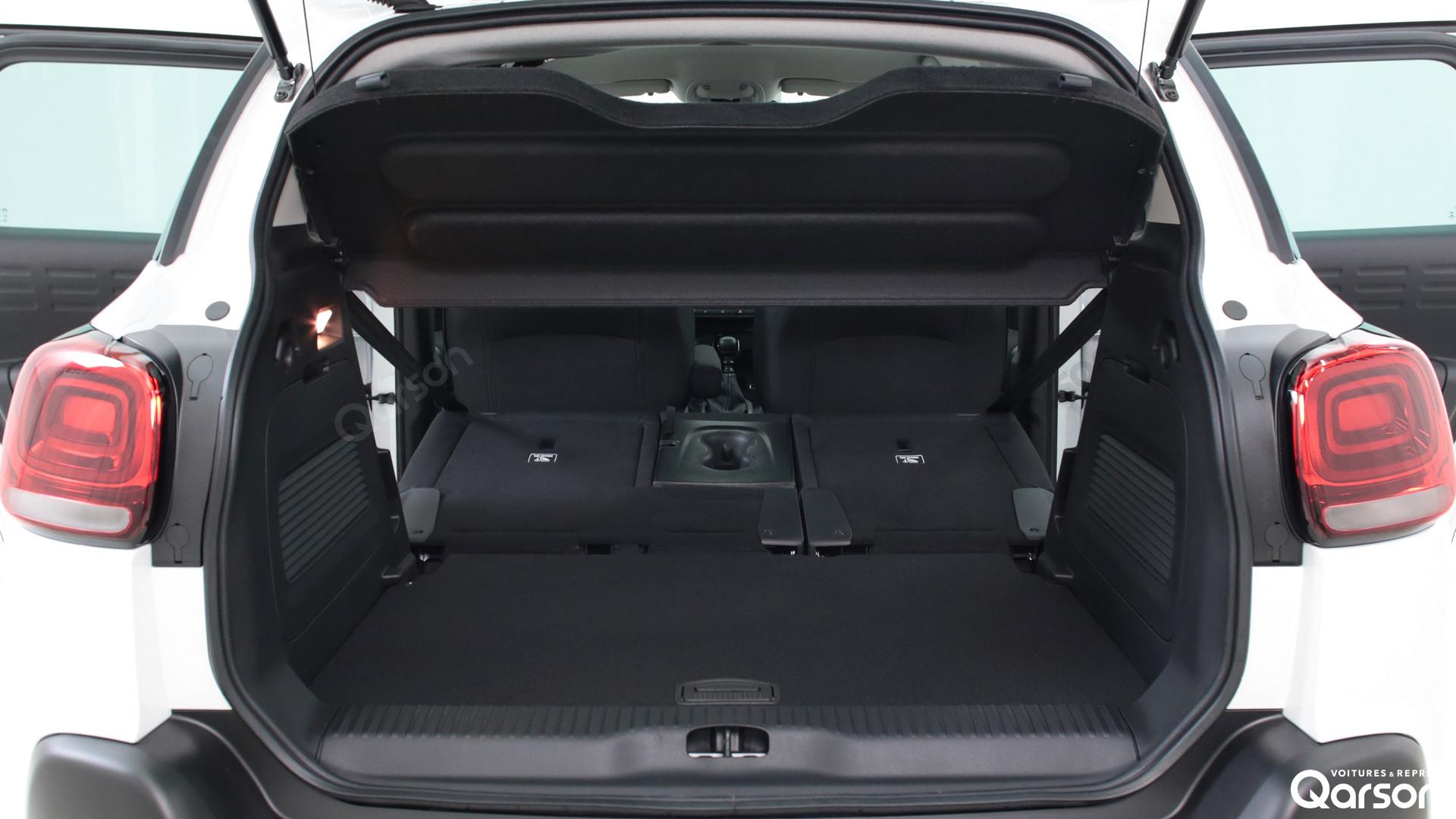Dimension coffre Citroen C3 Aircross