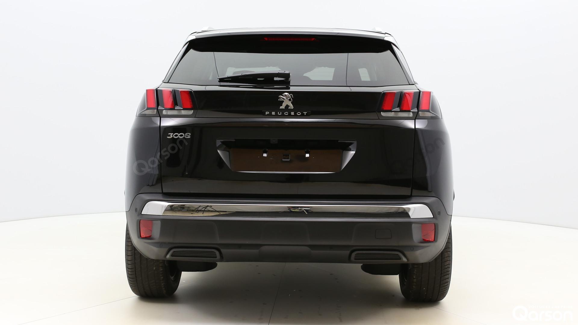 Vue arrière Peugeot 3008
