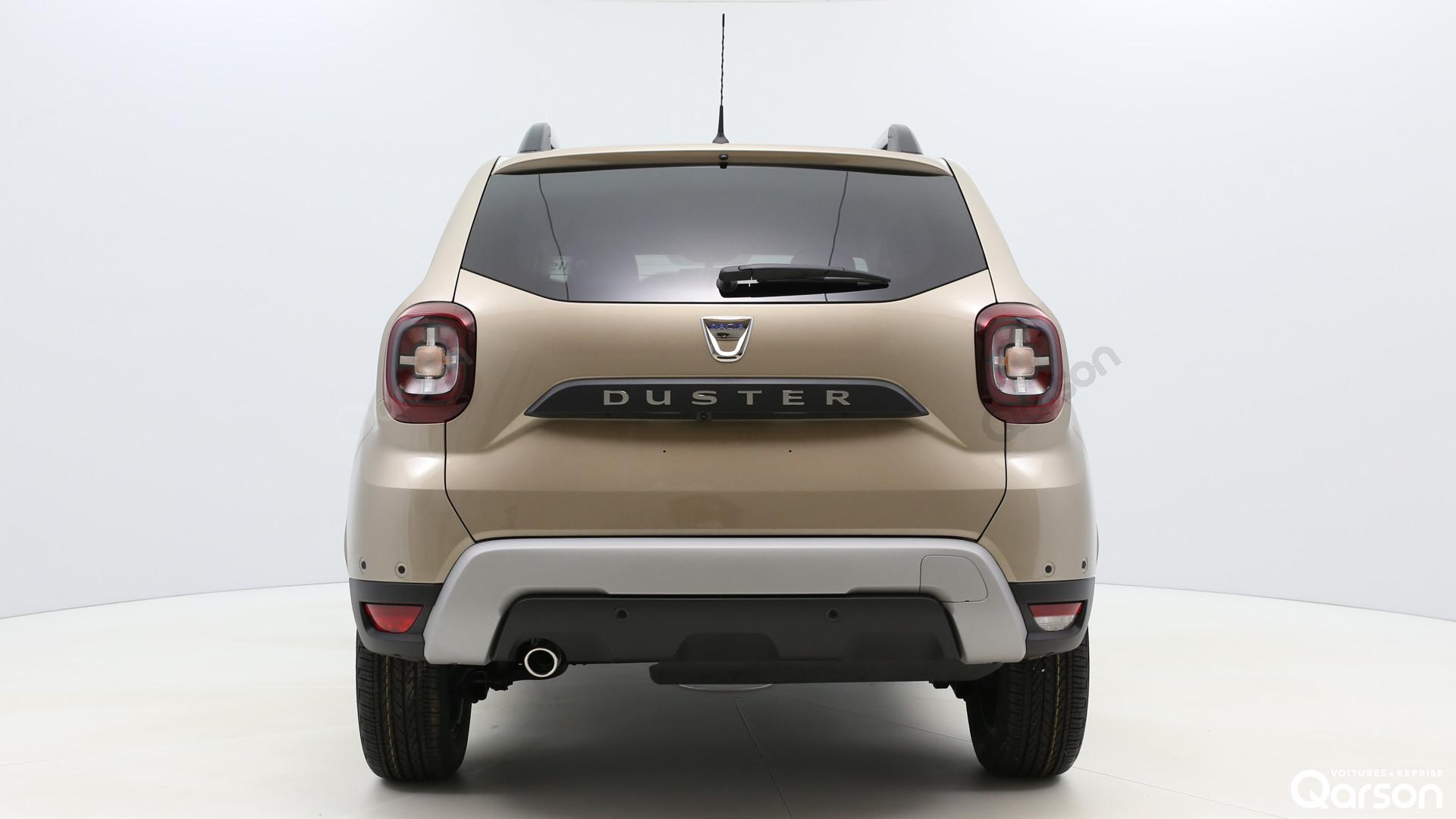 Vue arrière Dacia Duster