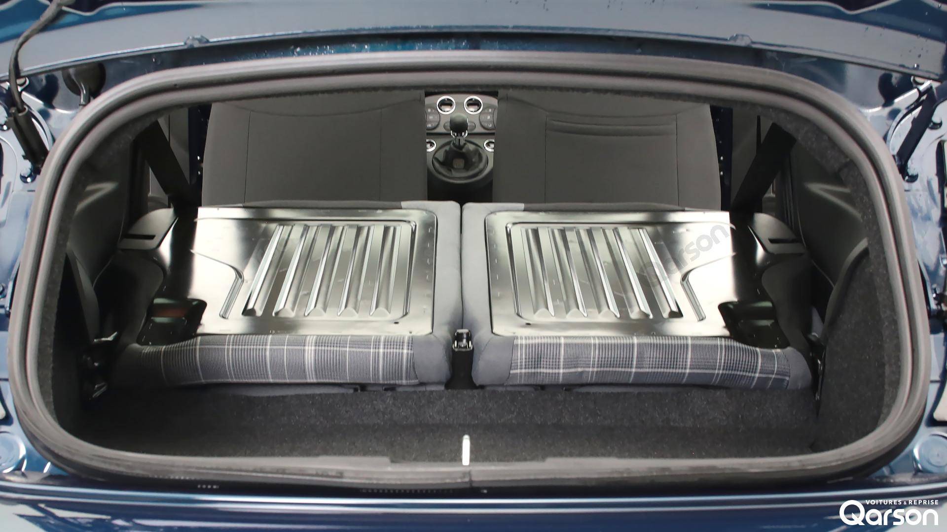 Dimension coffre Fiat 500C