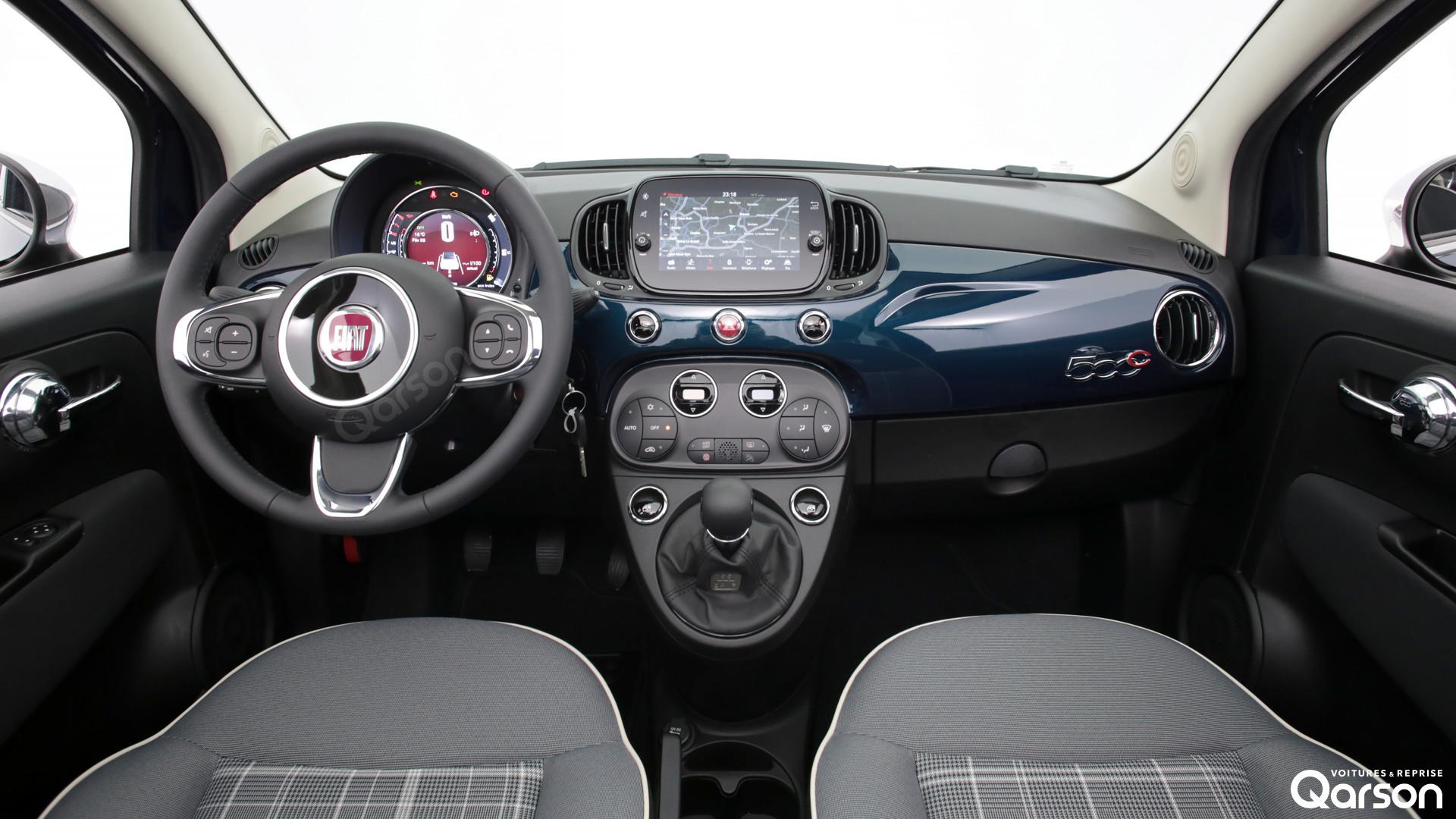 Tableau de bord Fiat 500C