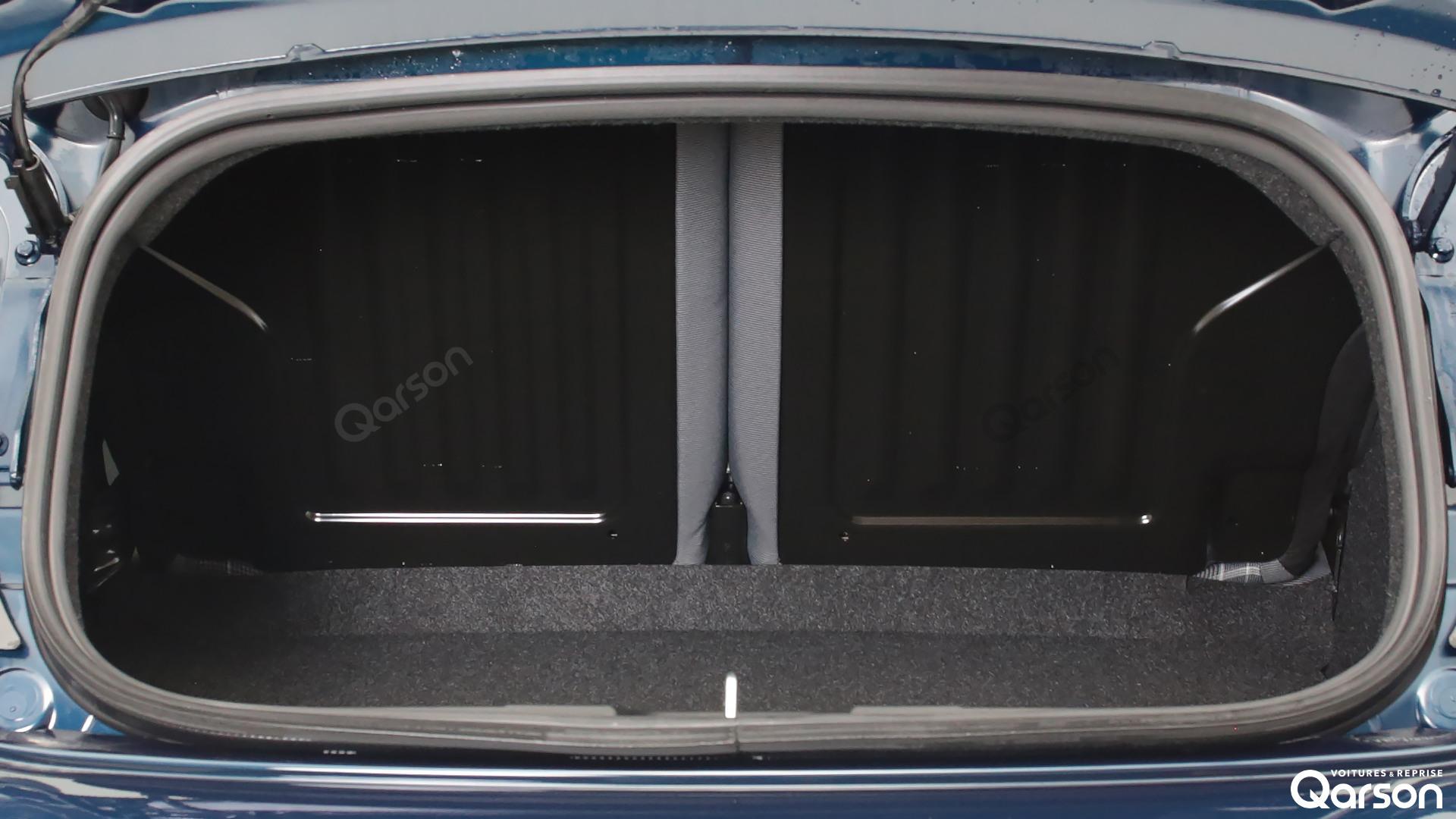 Volume du coffre Fiat 500C