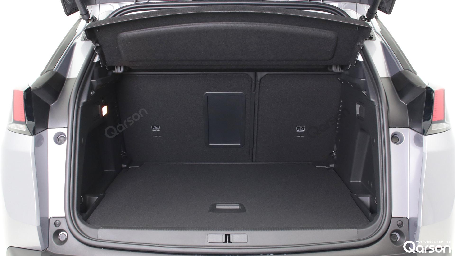 Volume du coffre Peugeot 3008