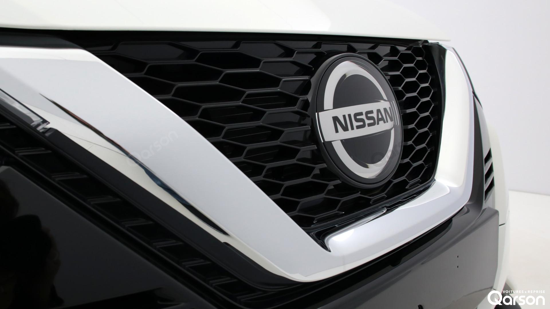 Vue exterieur Nissan Qashqai