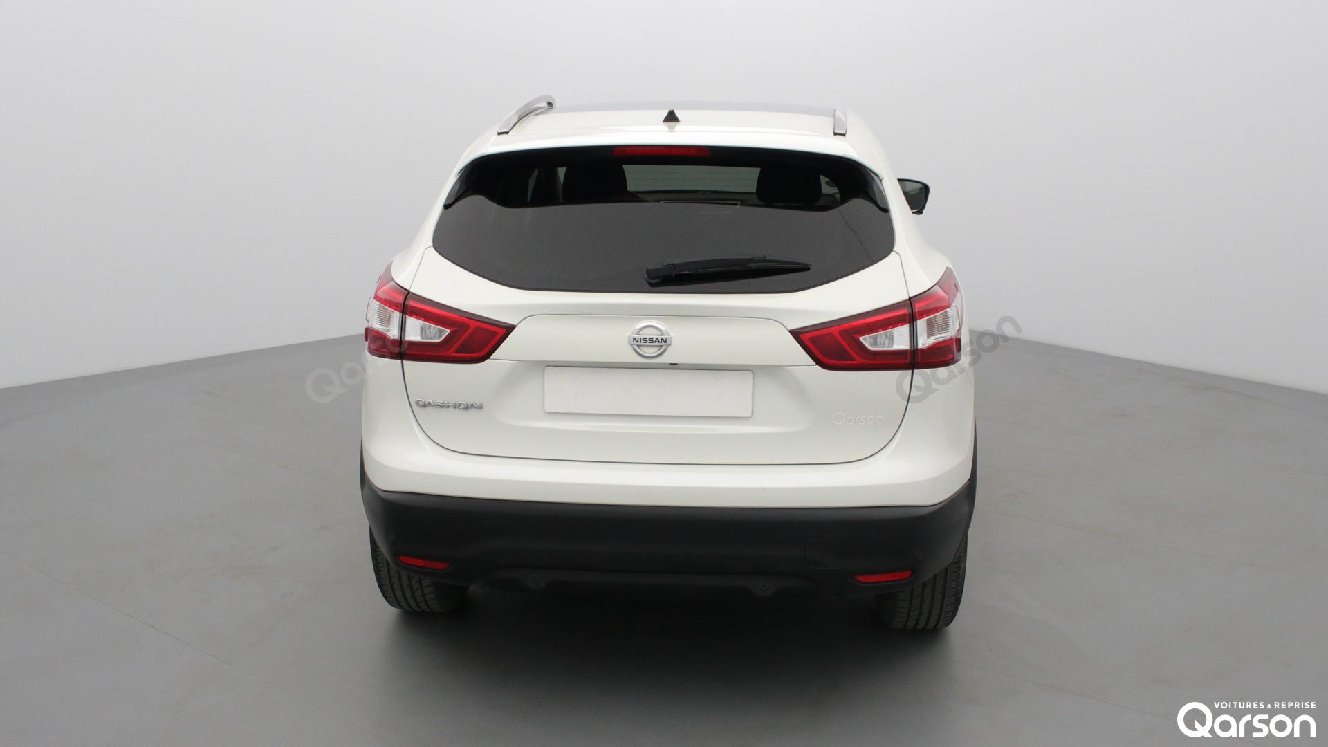 Vue arrière Nissan Qashqai