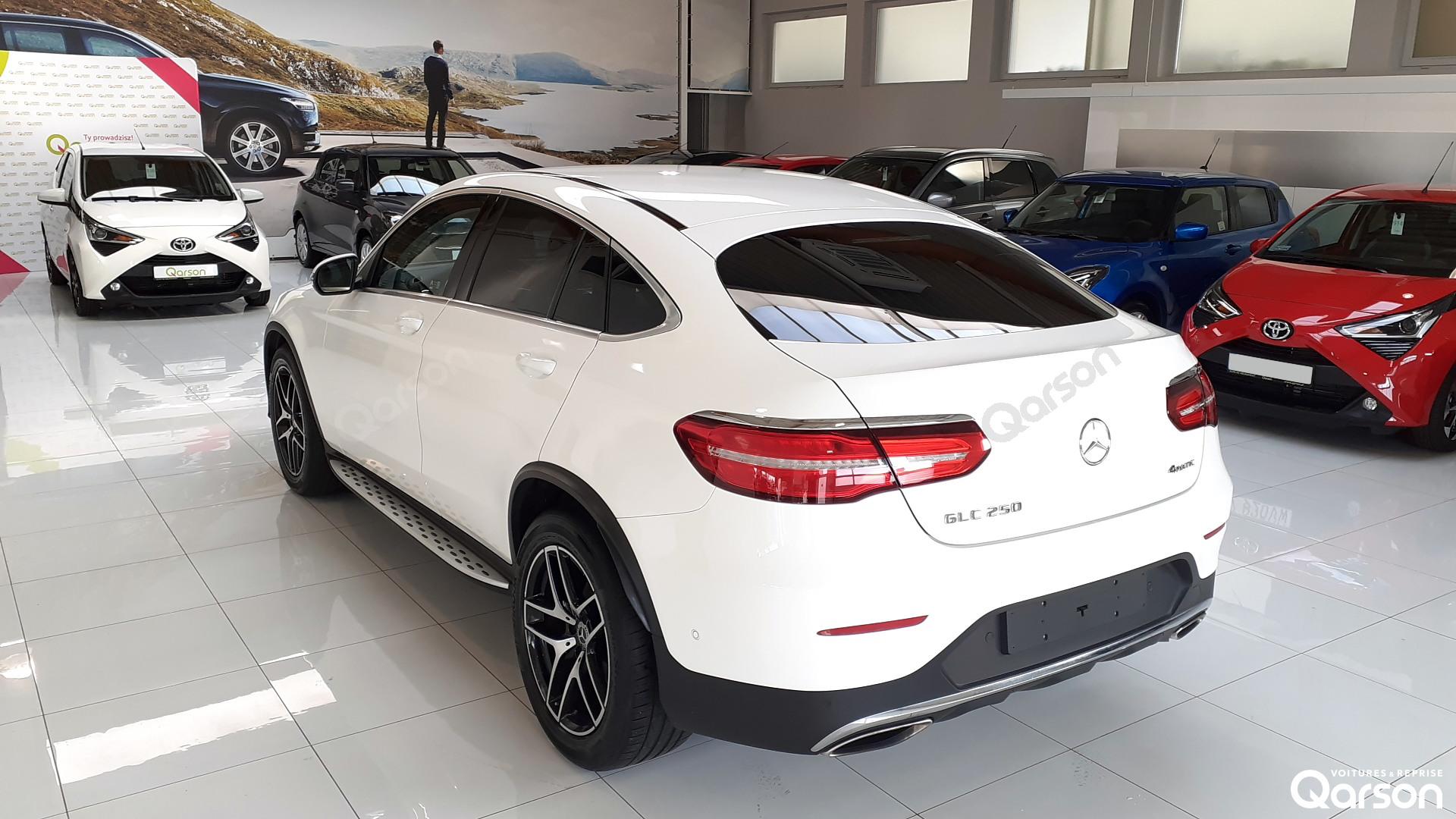Face arrière droite GLC (C253) Coupe