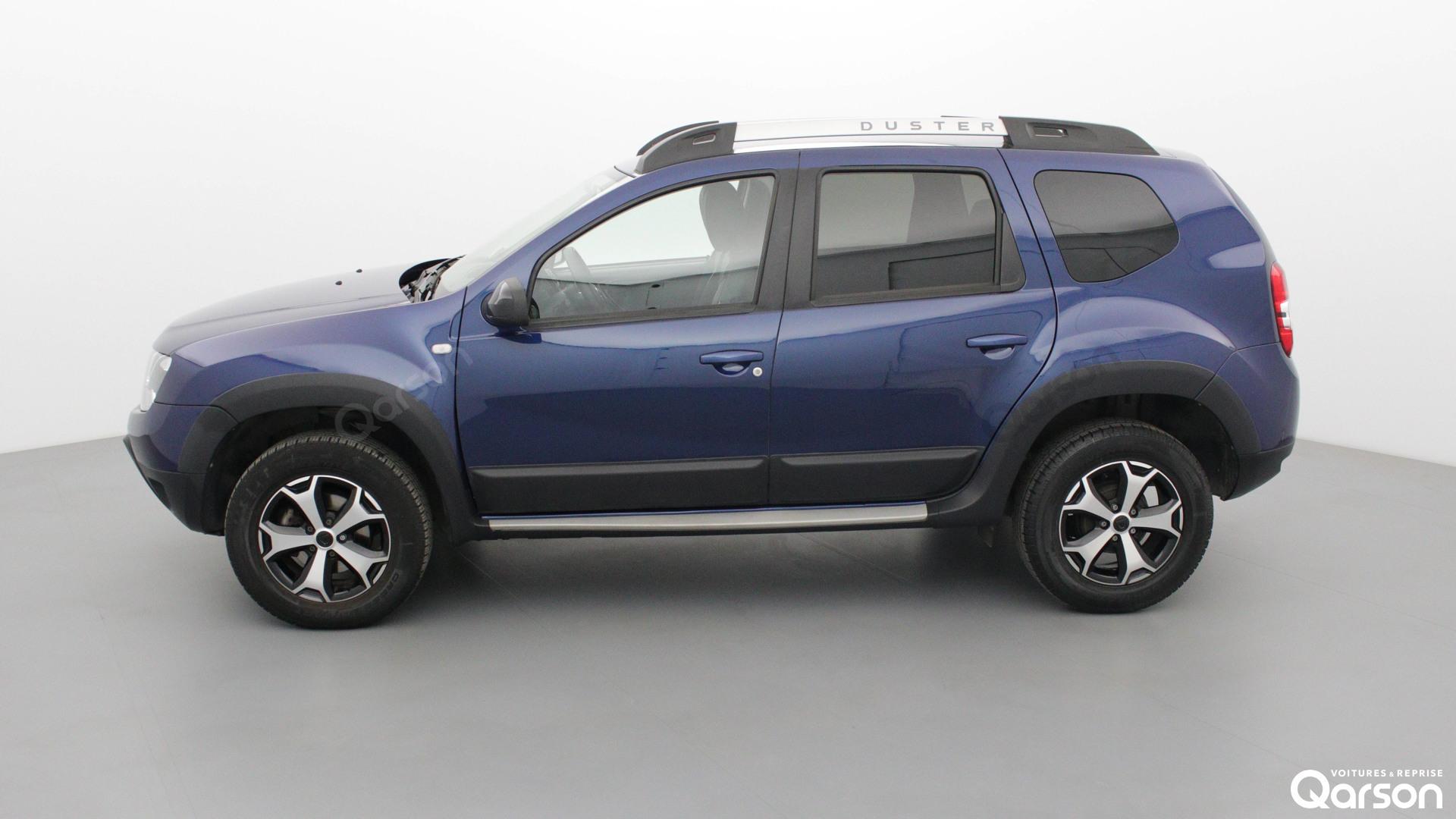 Vue profile gauche Dacia Duster