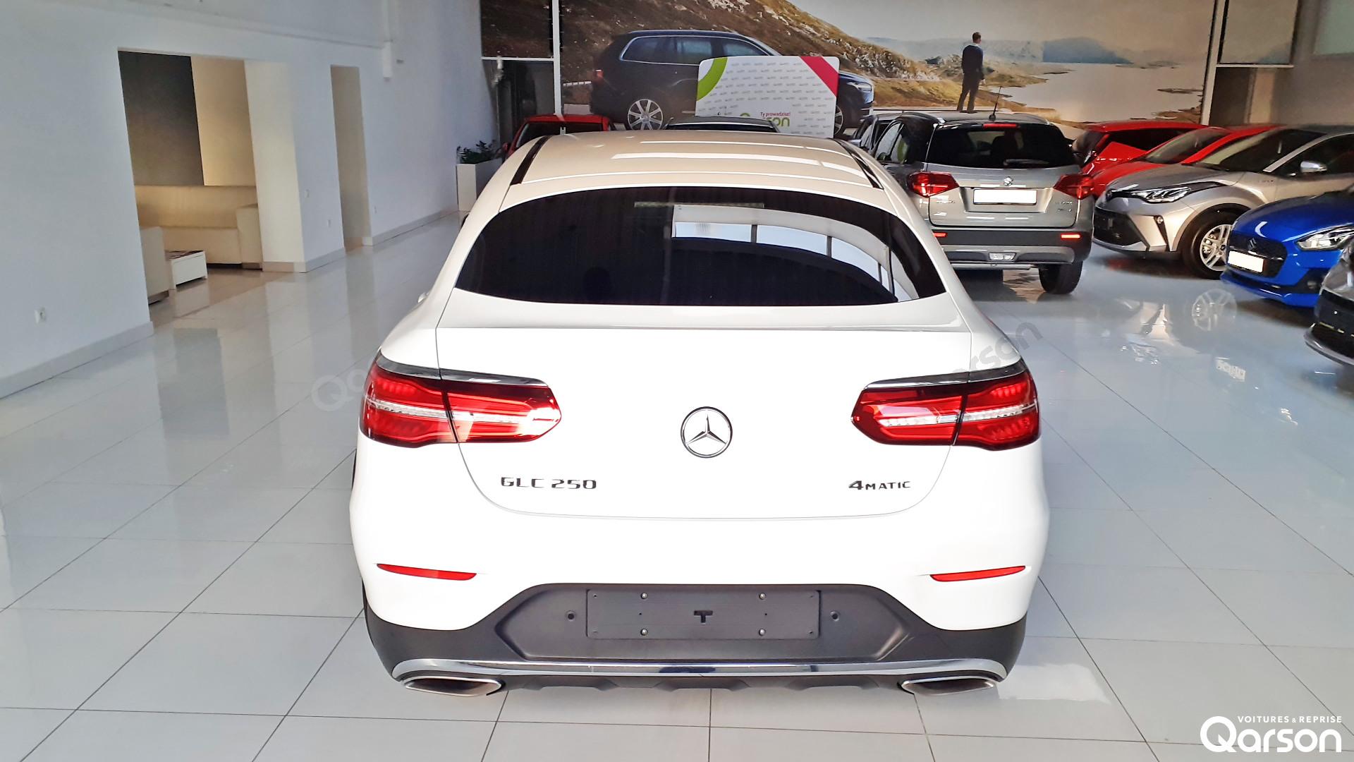 Vue arrière GLC (C253) Coupe