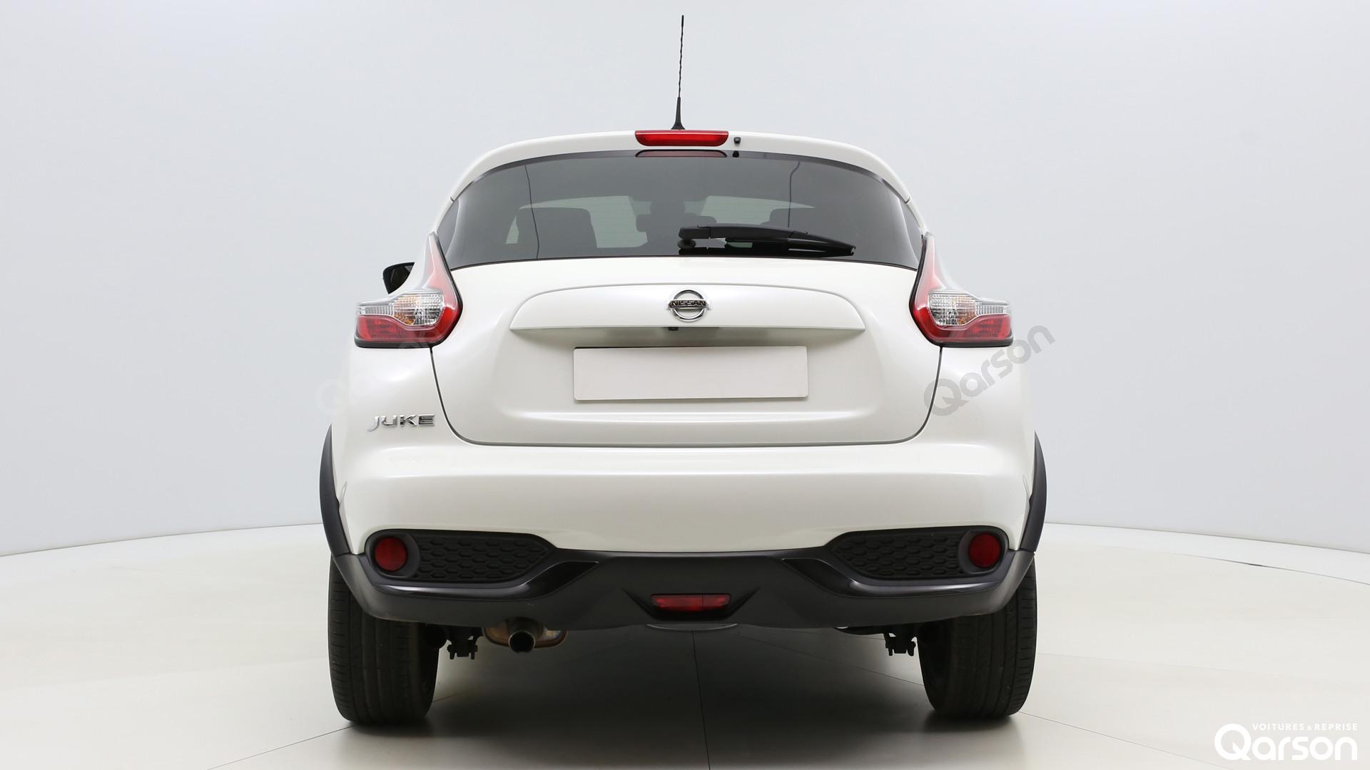 Vue arrière Nissan Juke