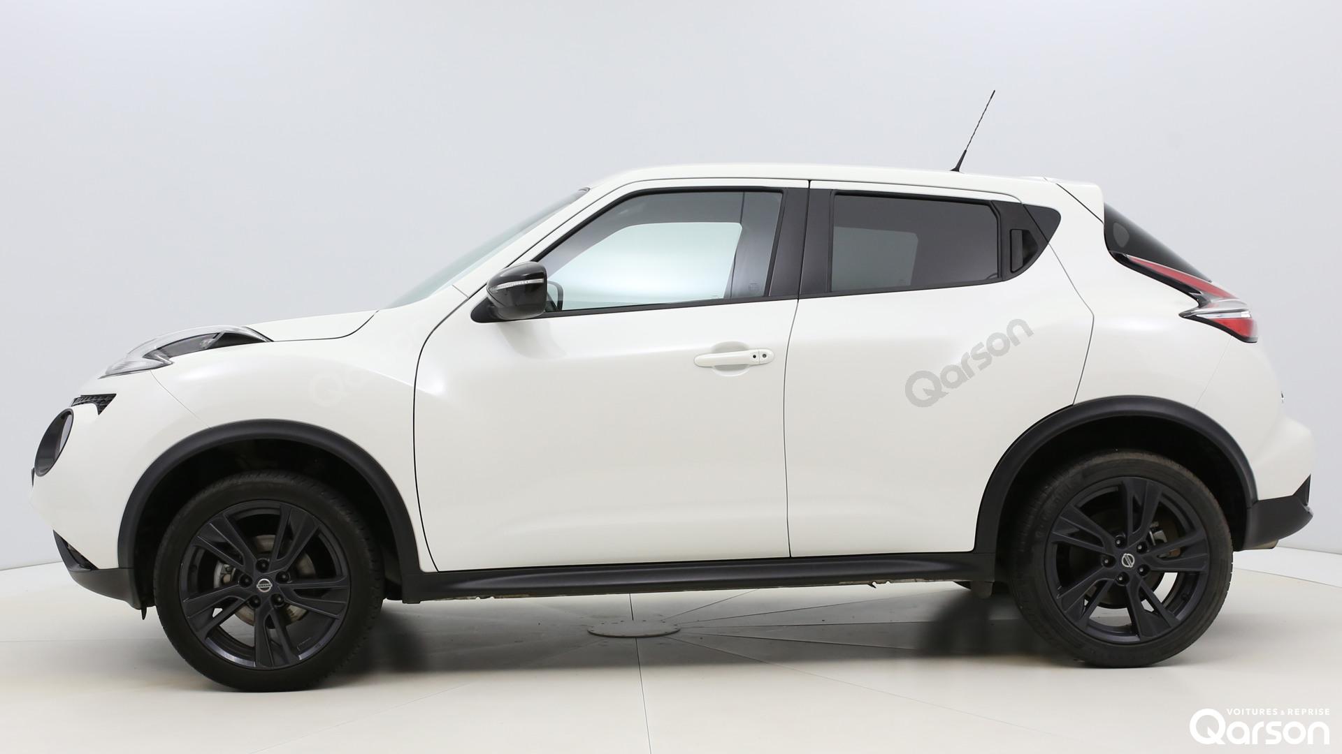 Vue profile gauche Nissan Juke