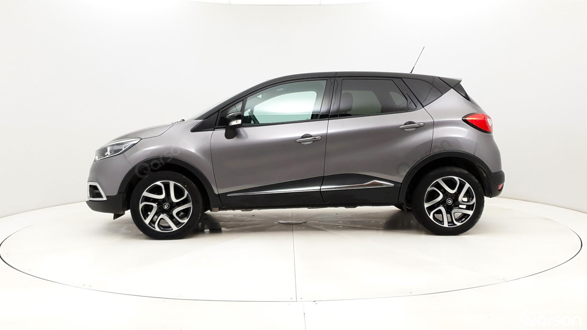 Vue profile gauche Renault Captur
