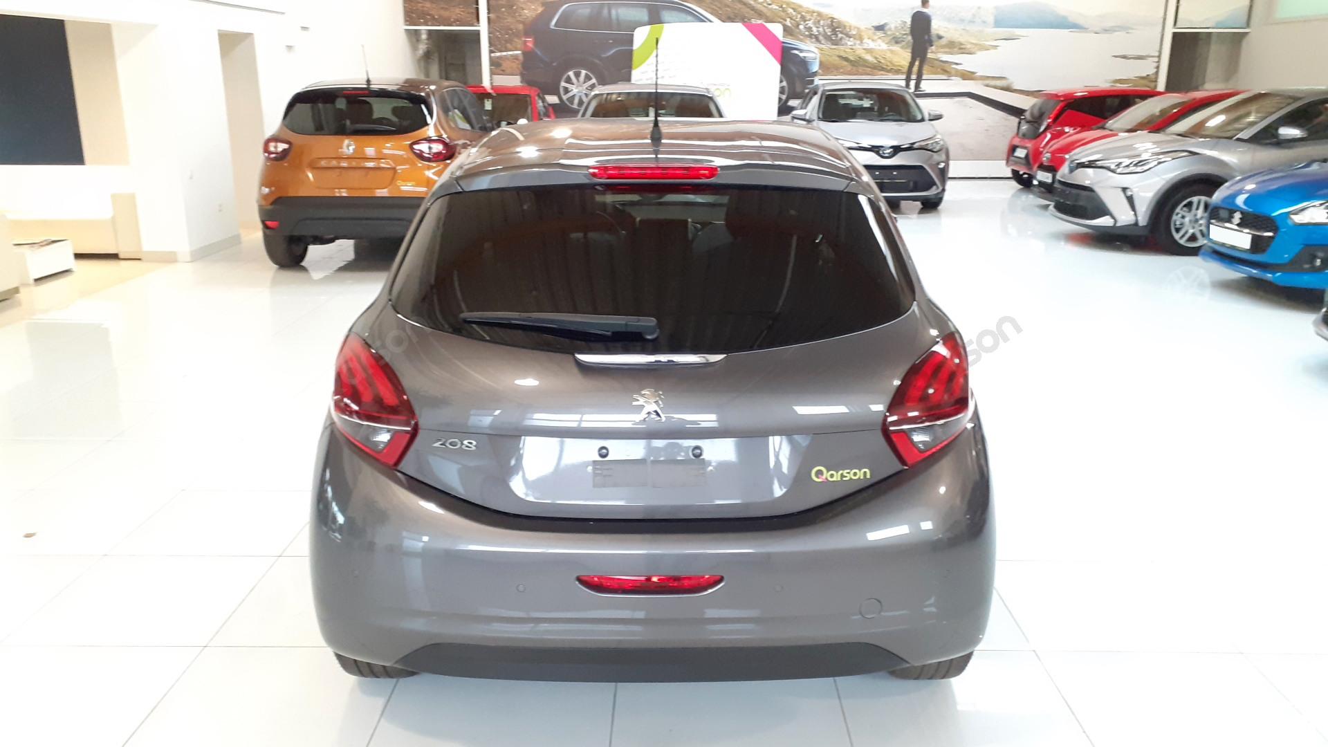 Vue arrière Peugeot 208 5P