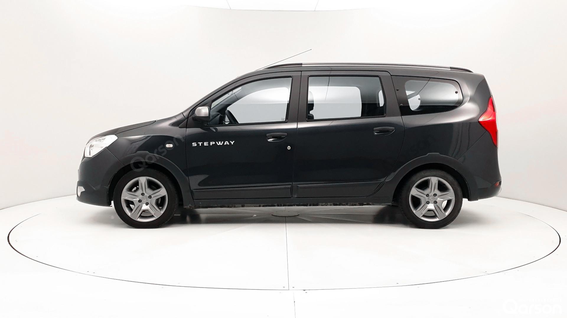 Vue profile gauche Dacia Lodgy