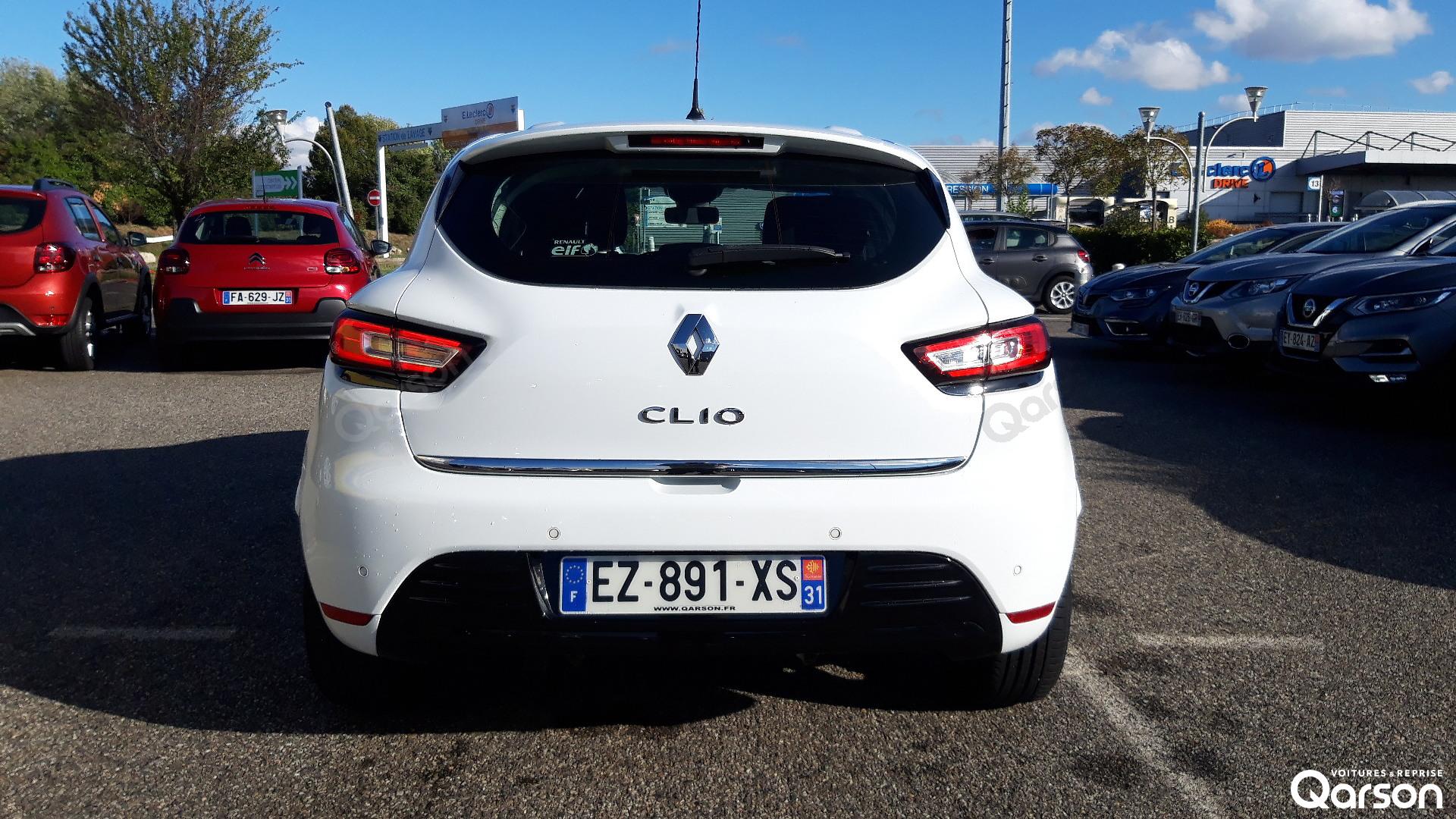 Vue arrière Clio 5P