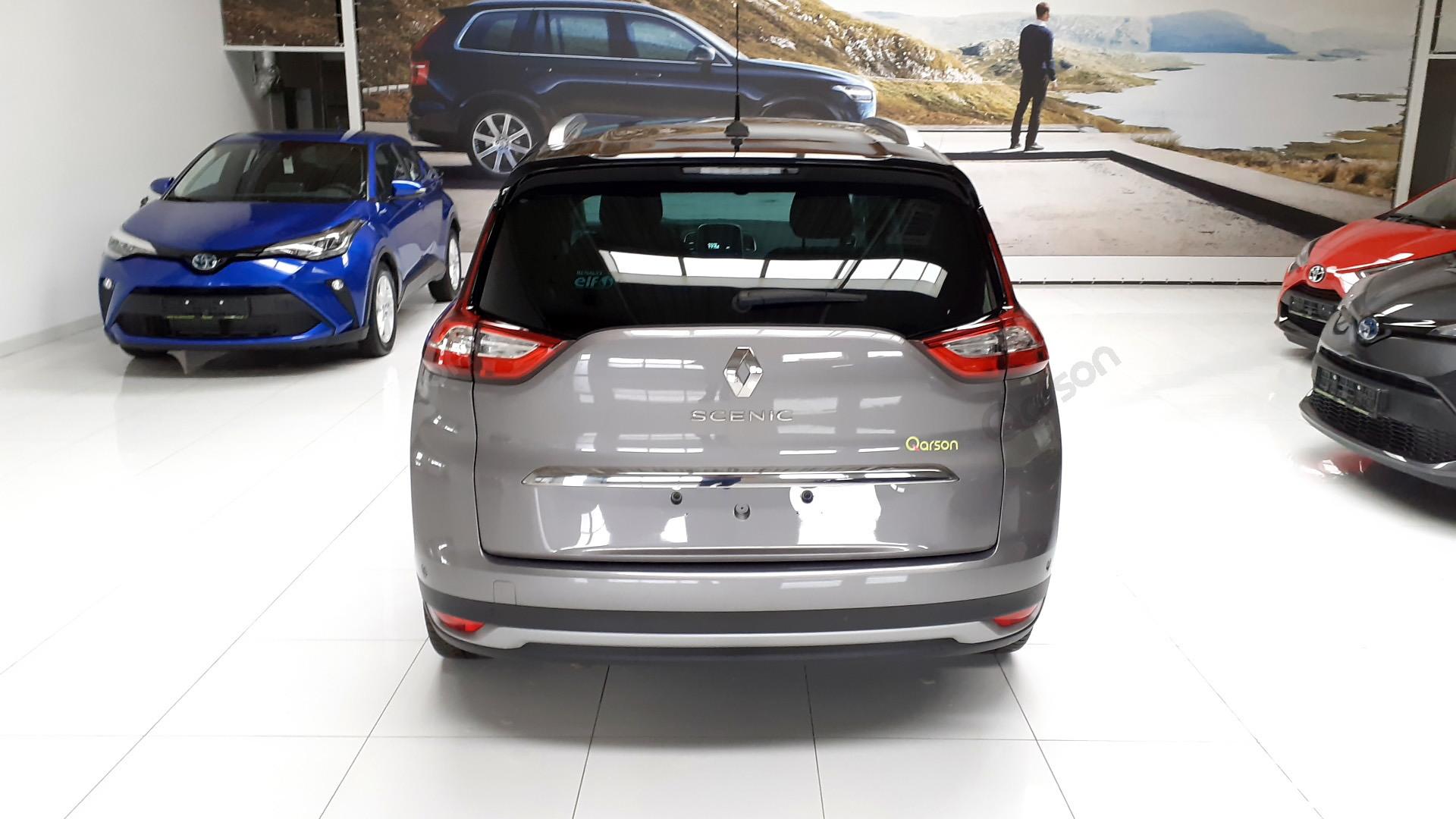 Vue arrière Renault Scenic GRAND