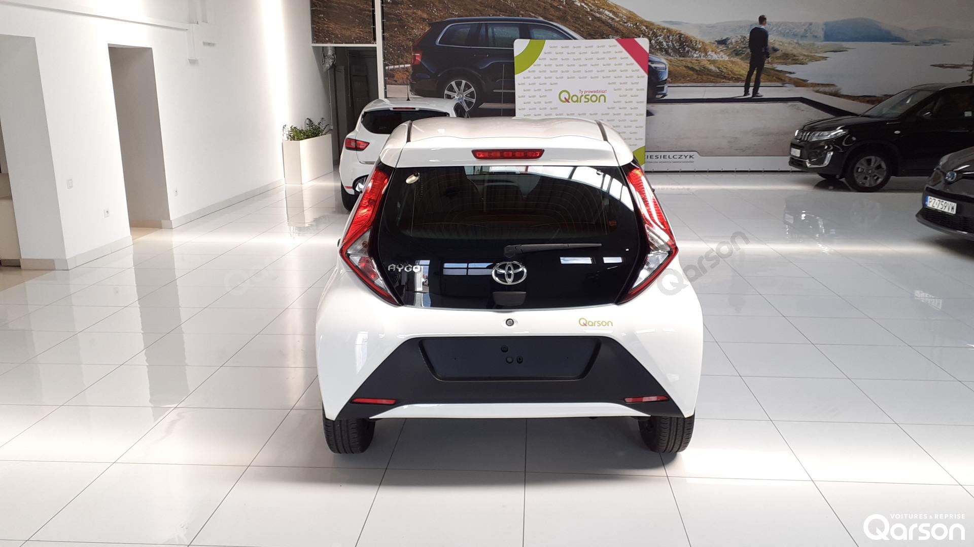 Vue arrière Toyota Aygo 5P