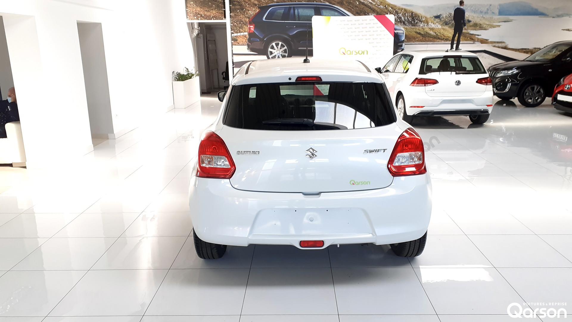 Vue arrière Suzuki Swift 5P