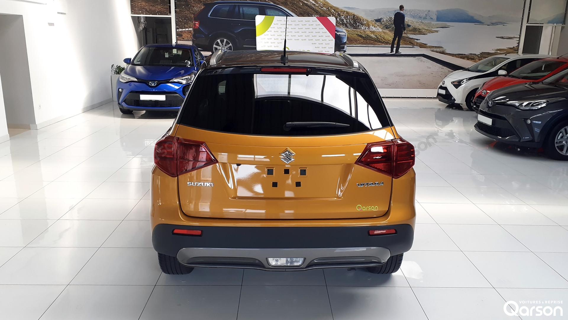 Vue arrière Suzuki Vitara