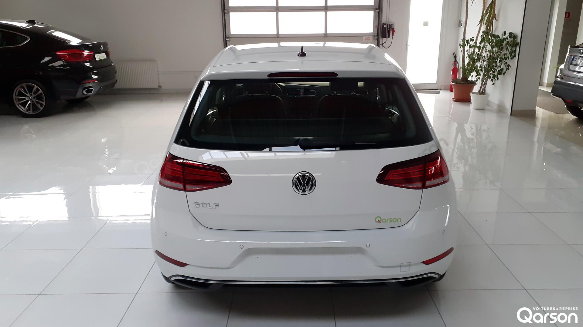 Vue arrière VW Golf 5P