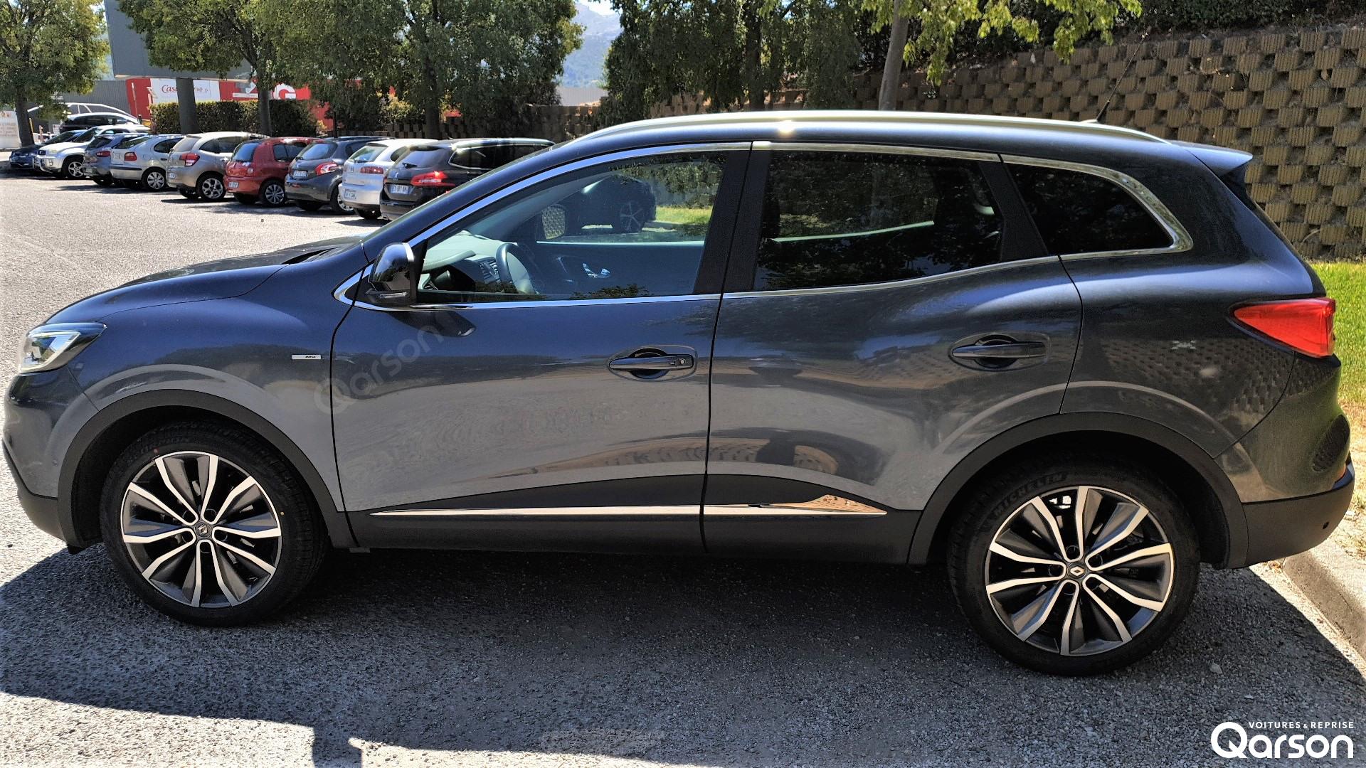 Vue profile gauche Renault Kadjar
