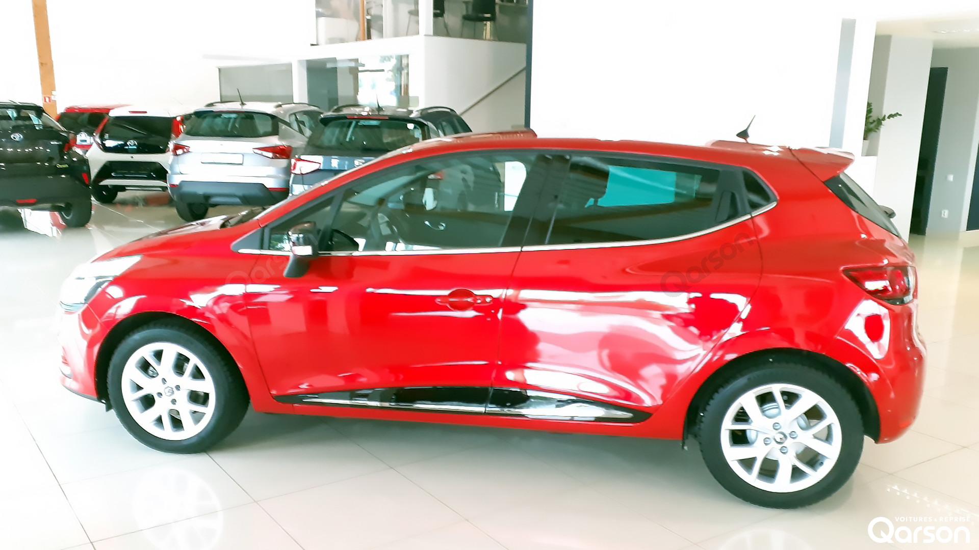 Vue du profil gauche Clio 5P